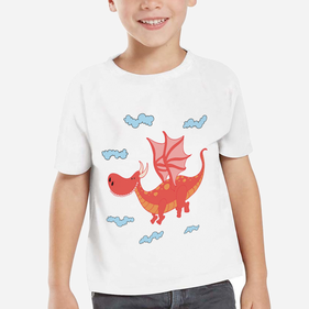 Exclusive Sale - Personalized Dragon Kid's T-Shirt