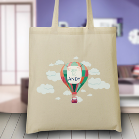 Personalized Dream Big Tote Bag