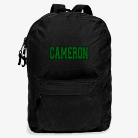 Personalized Embroidered Name Backpack