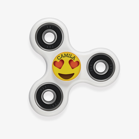 Personalized Emoji Fidget Spinners