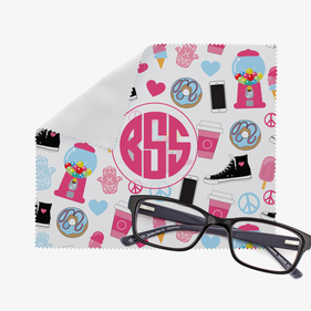 Personalized Essentials Eye Glasses Cleaning Cloth