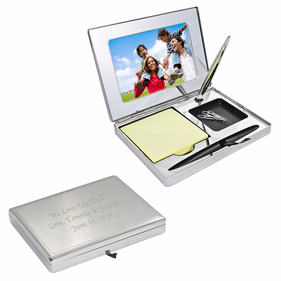 Personalized Executive Desktop Organizer
