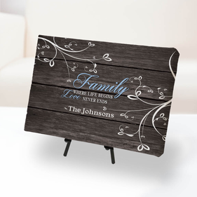 Personalized Family and Love Canvas Print