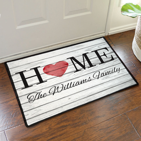 Personalized Family Home Doormat