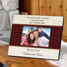 Personalized Father's Poem Frames