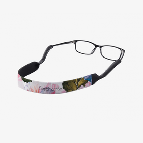 Personalized Floral Eyewear Retainer