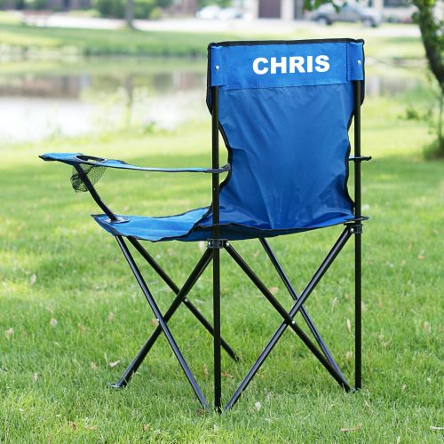 Personalized Folding Lawn Chair Monogram line