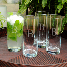 Personalized  Cooler Glass