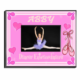 Personalized Picture Frames for Girls