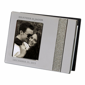 Personalized Glitter Galore Half Frame Cover Album
