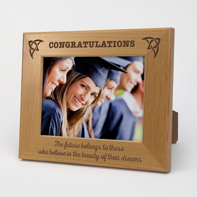 Personalized Graduation Wooden Picture Frame