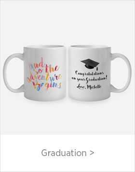 Personalized Graduation Gifts - use code GRAD-16 for 40% Off