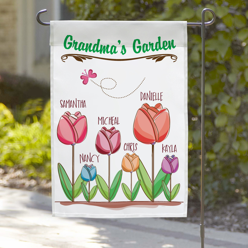 Garden Flag Details Hh Color Lab Personalized Garden Flags