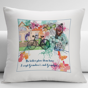 Personalized Grandpa & Grandma Pillow Covers