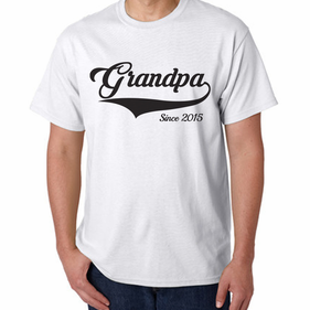 Personalized  Grandpa T-Shirts