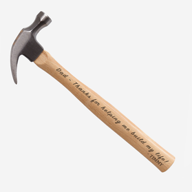 Personalized Engraved Hammer