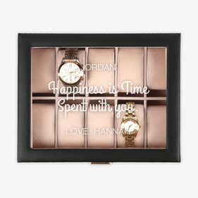 Personalized Happiness Is Time Watch Case