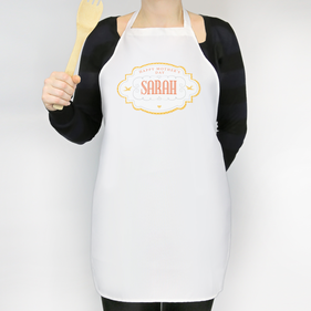 Personalized Happy Mother's Day Adult Apron