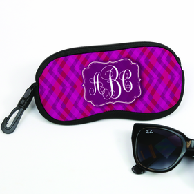 Personalized Monogram Glasses Case
