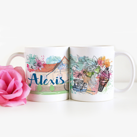 Personalized Home Ceramic Mug