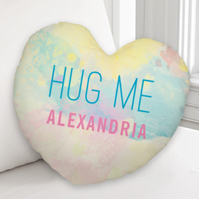 Personalized Hug Me Custom Cushion