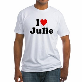 Personalized I Love You T-Shirt for Him