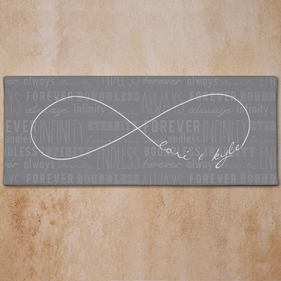 Personalized Infinity Symbol Canvas