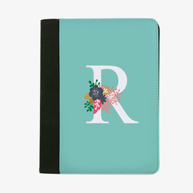 Personalized Initial File Folder
