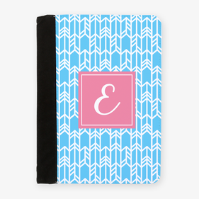 Personalized Initial Notes File Folder