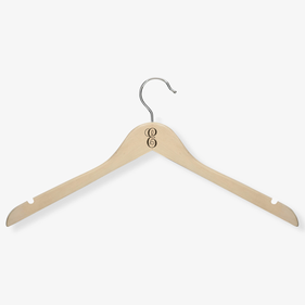 Personalized Initial Wooden Hanger