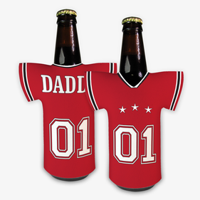 Personalized Jersey Bottle Beverage Holder