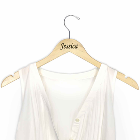 Personalized Jessica Wooden Hanger