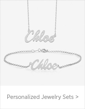 Personalized Jewelry Sets
