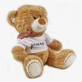 Personalized Jonas Teddy Bear