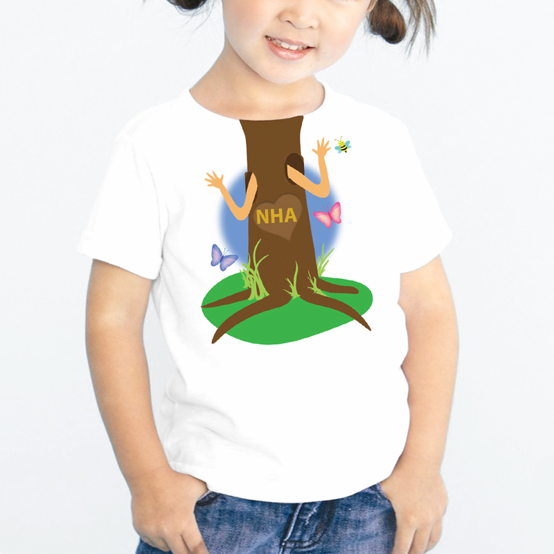 Personalized Kids Tree Hugger T Shirt Buy Now