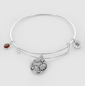 Personalized Little Bug Bangle