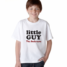 Personalized Little Guy T-Shirt