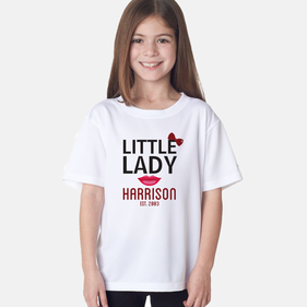 Personalized Little Lady T-Shirt