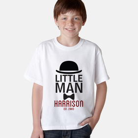 Exclusive Sale - Personalized Little Man T-Shirt