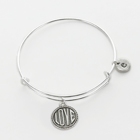 Personalized Love Charm Bangle