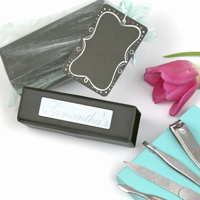 Personalized Manicure Gift Set