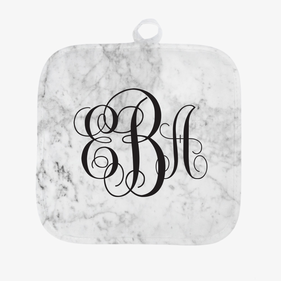 Personalized Marble Design Potholder