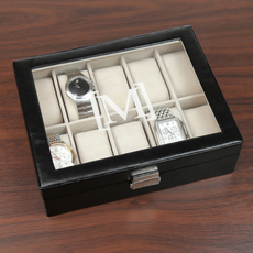 monogrammed personalized gifts from monogram online personalized men s watch case