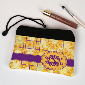 Personalized Monogram Cosmetic Bag