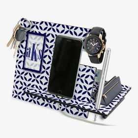 Exclusive Sale - Personalized Monogram Desk Organizer