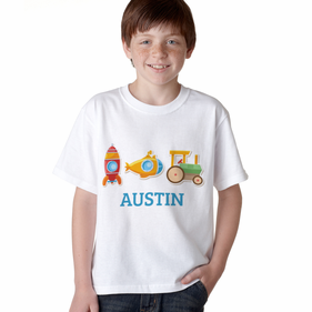 "Personalized ""My Little Working Man"" T-Shirt"