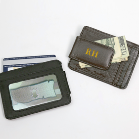 Personalized Two Initials Money Clip