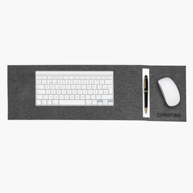 Personalized Script Quote Keyboard Pad