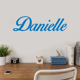 Personalized Name Vinyl Wall Decal