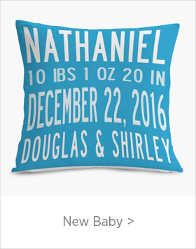 Personalized New Baby Gifts